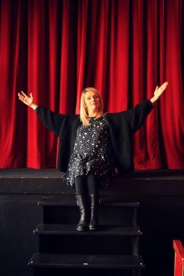alexandra prof de théâtre entrepreneuriat