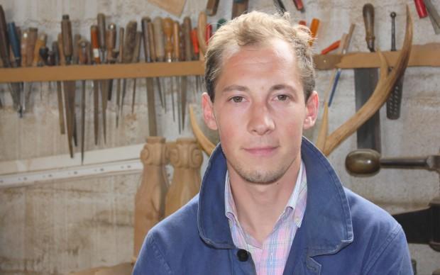 Portrait entrepreneur Témoignage entrepreneuriat ébéniste